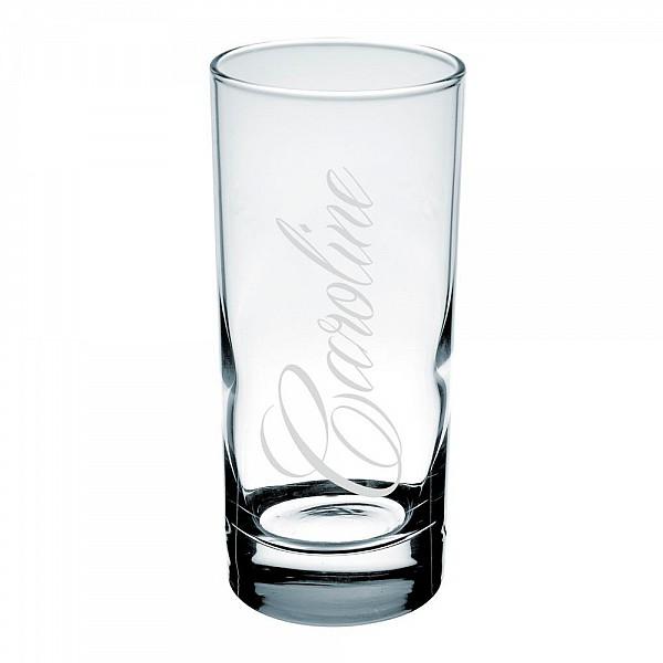 Drinkglas - Kursiv egen personlig gravyr
