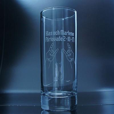 Drinkglas - Rock n Roll