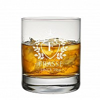 Graverade whiskyglas med personlig text