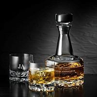 Orrefors Erik Karaff + 2st Glas med namn