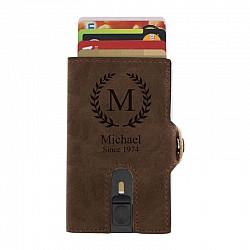 RFID Plånbok med namn - Krans