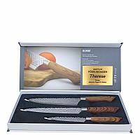 3-delars knivset med personlig hälsning