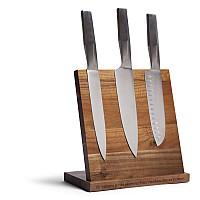 Paketpris - Knivar och magnetiskt knivblock från Orrefors Jernverk