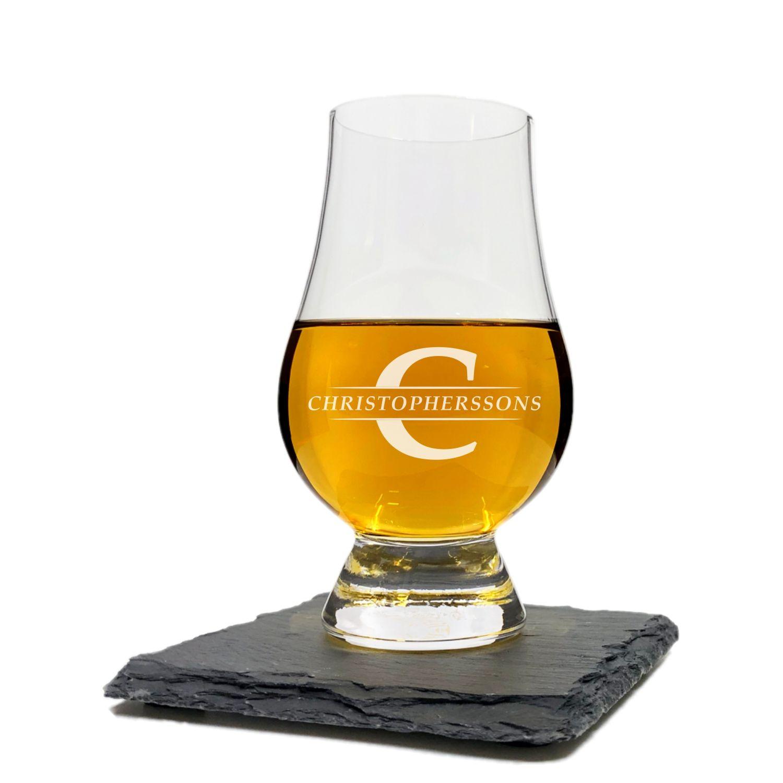 Glencairn Whiskyglas - Graverad med namn